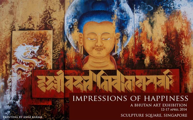 Bhutan Art Exhibition | Impressions of Happiness