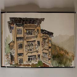 Hotel Lobesa, Punakha