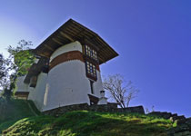 The new Tsrongsa Da Dzong Museum completed in 2009 has an impressive collection of Bhutan heritage