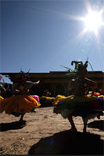 Chaam Dance at the Jambay Lhakhang Drup
